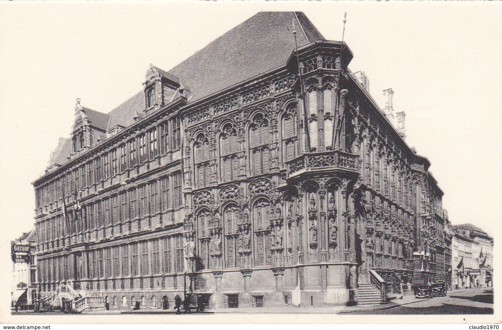 CARTOLINA - POSTCARD - BELGIO - GENT - HOTEL DE VILLE - Gent