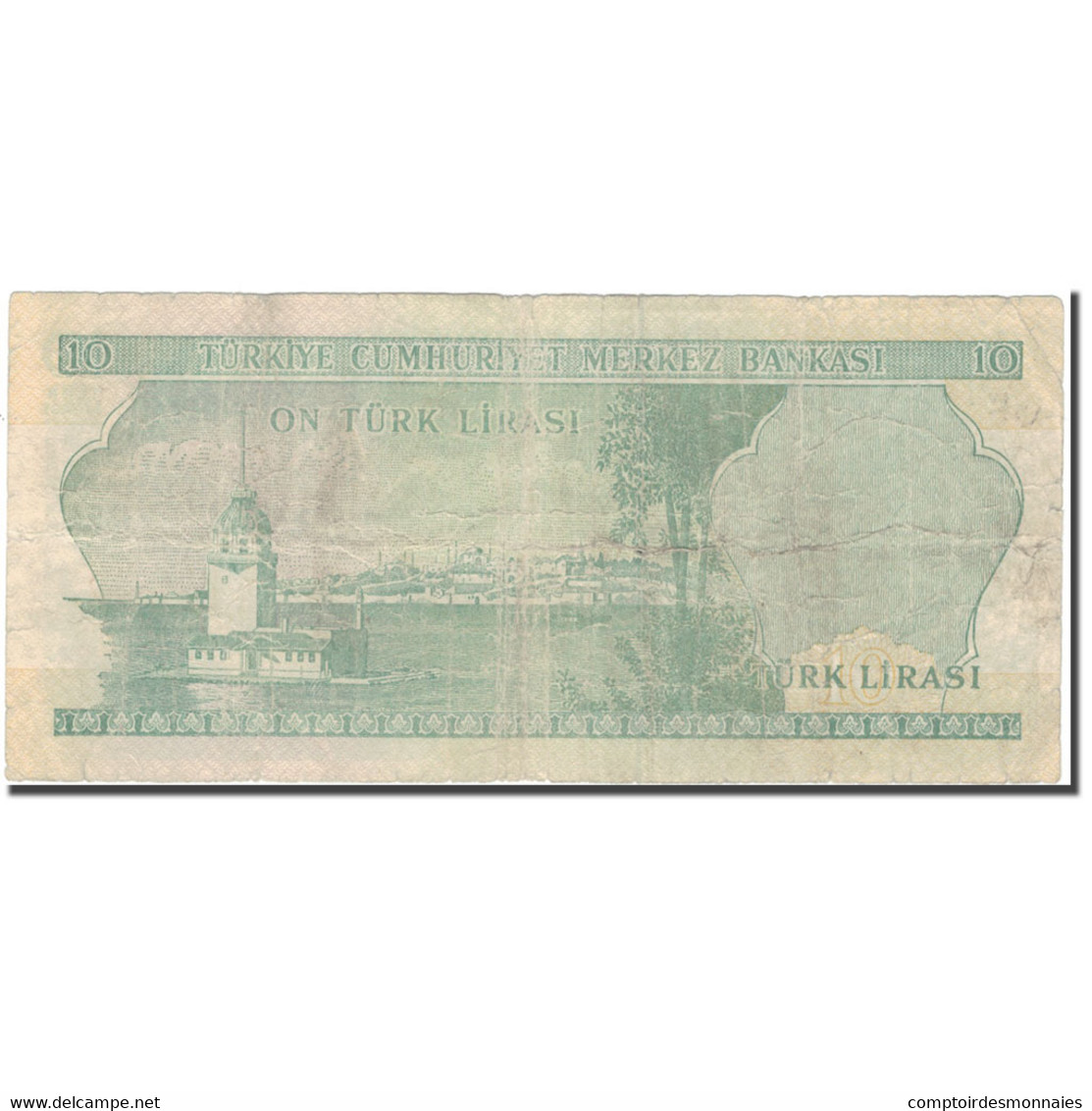 Billet, Turquie, 10 Lira, 1970, KM:186, B+ - Turquie