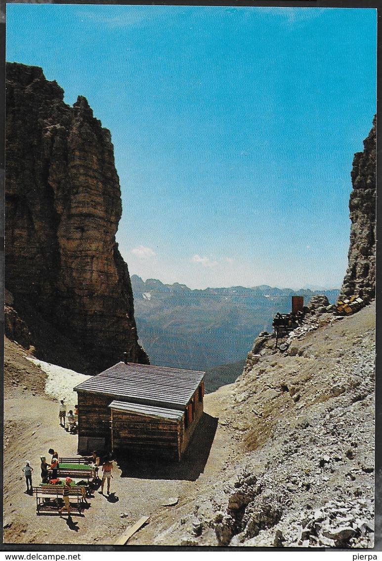 DOLOMITI - RIFUGIO FORCELLA PORDOI - TIMBRO DEL RIFUGIO - NUOVA - Alpinisme