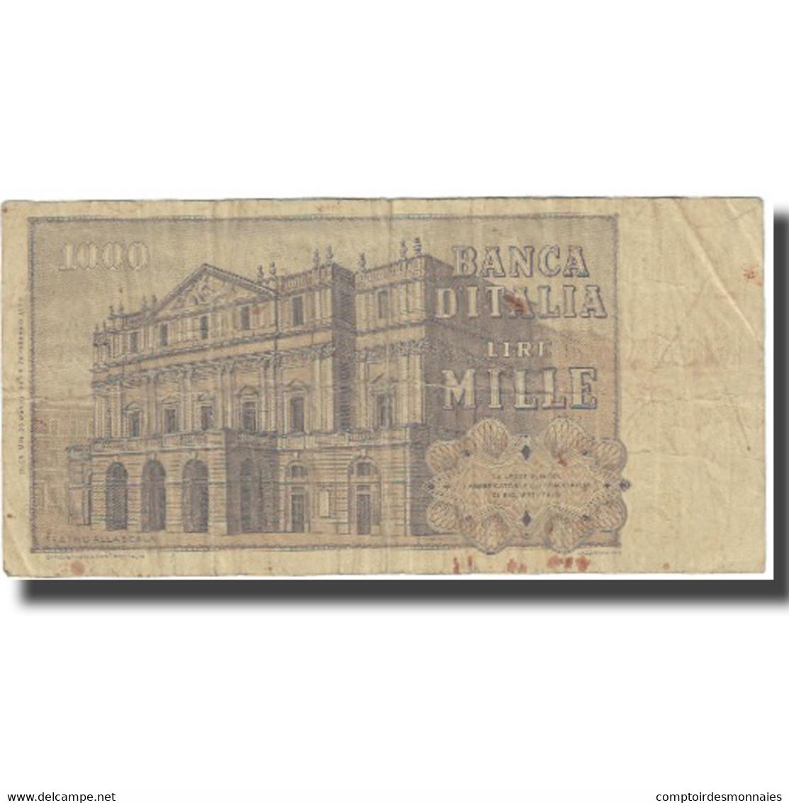 Billet, Italie, 1000 Lire, KM:101a, TB - 1000 Lire