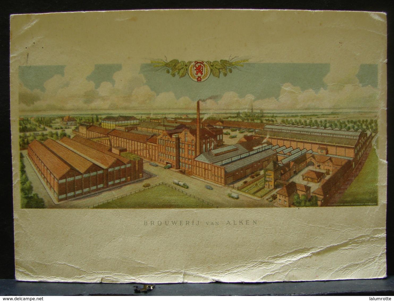 CP. 2545. Brouwerij Van Alken. Brasserie, Bière. - Alken