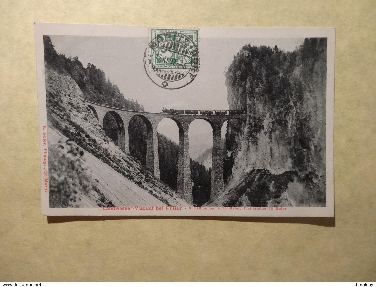 Albulabahn - Landwasser-Viadukt Bei Filisur (5004) - GR Grisons