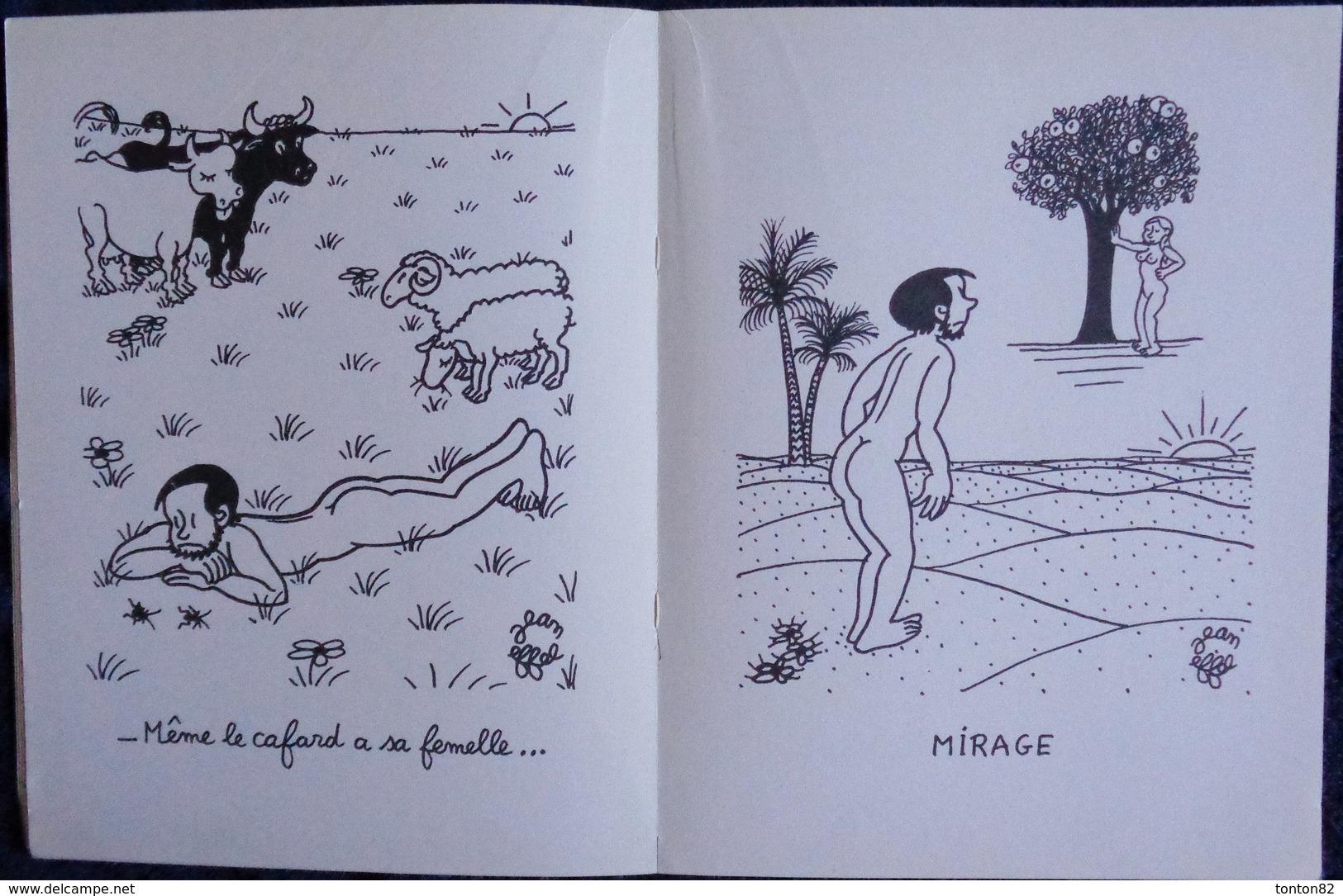 Jean EFFEL - Opération ÈVE - Le Roman D'Adam Et Ève - Éditions Cercle D'Art Paris - ( 1960 ) . - Bücher, Zeitschriften, Comics