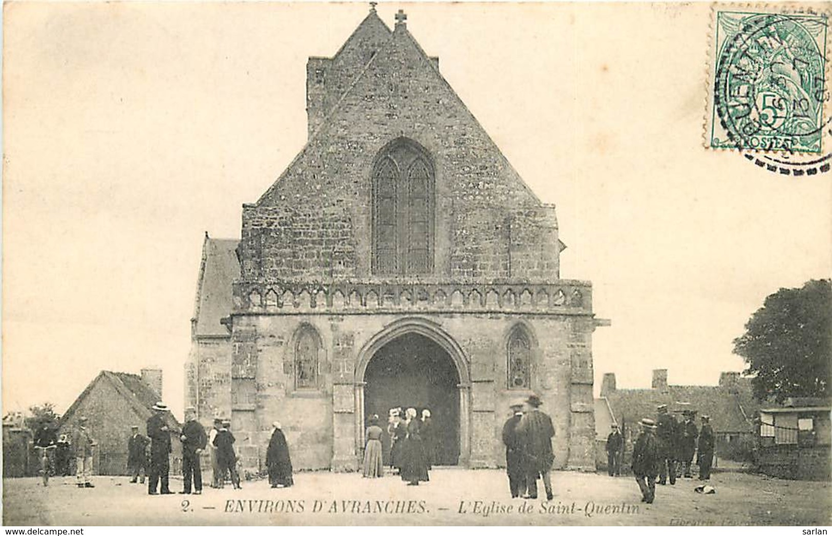 50 , Saint-Quentin-sur-le-Homme , Eglise  , * 417 80 - Frankreich