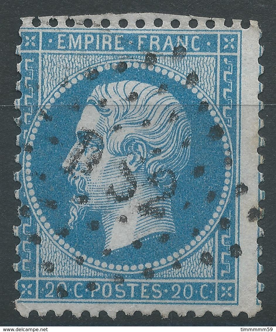Lot N°47810  N°22, Oblit Losange DS2 Romain De PARIS - 1862 Napoleon III