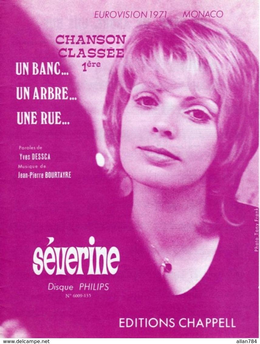 SEVERINE - UN BANC UN ARBRE UNE RUE - MONACO GAGNANT EUROVISION 1971 - ETAT NEUF - - Music & Instruments