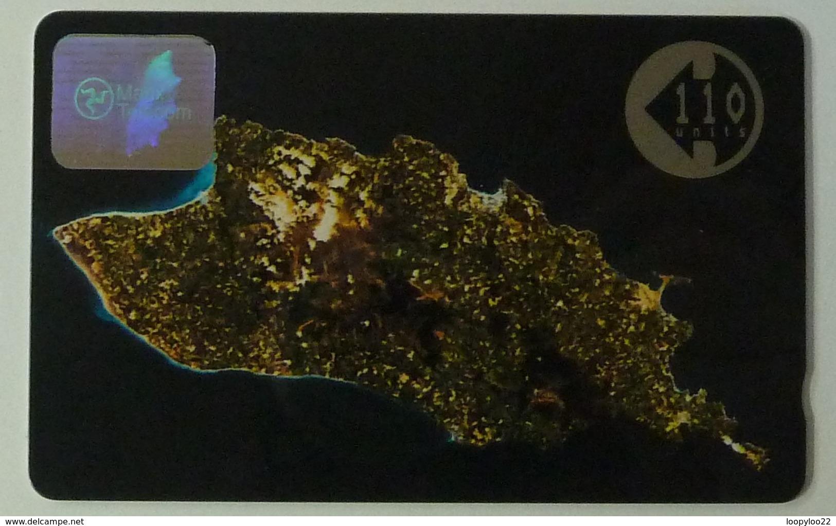 ISLE OF MAN - GPT - 9IOMA - Larger Control - 110 Units - Satellite Picture - Mint - Isla De Man