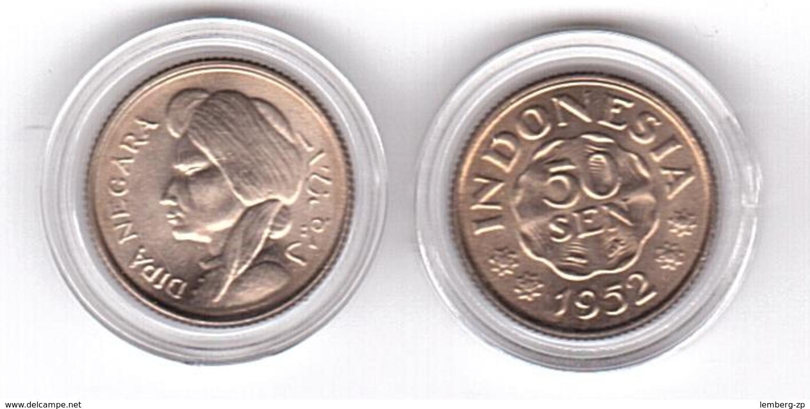 Indonesia - 50 Sen 1952 UNC Lemberg-Zp - Indonésie