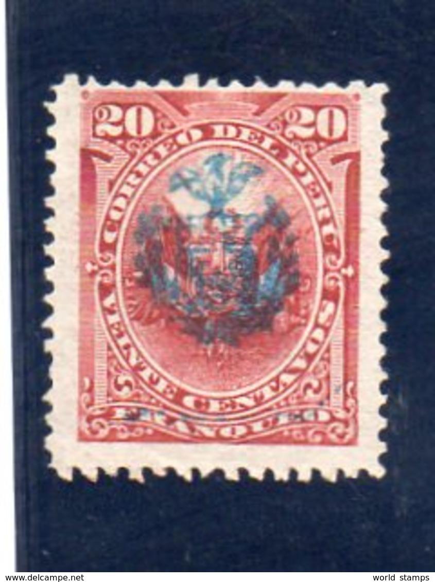 PEROU 1882 SANS GOMME - Peru