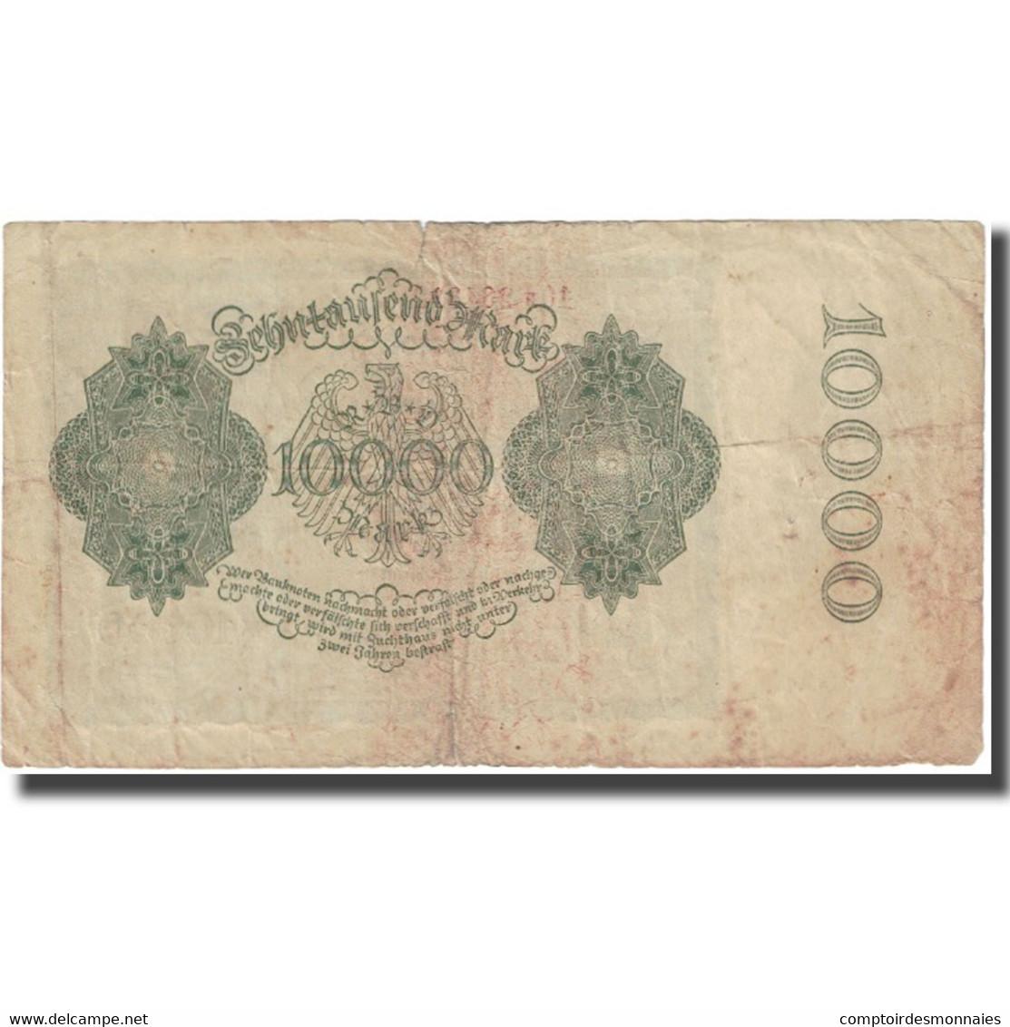 Billet, Allemagne, 10,000 Mark, 1922, 1922-01-19, KM:72, TTB - 10000 Mark