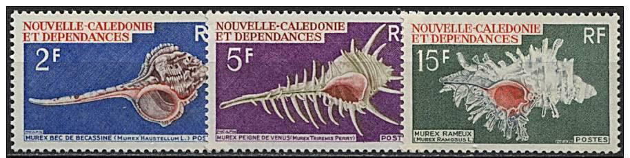 Nelle Calédonie, N° 358 à N° 360** Y Et T - Nouvelle-Calédonie