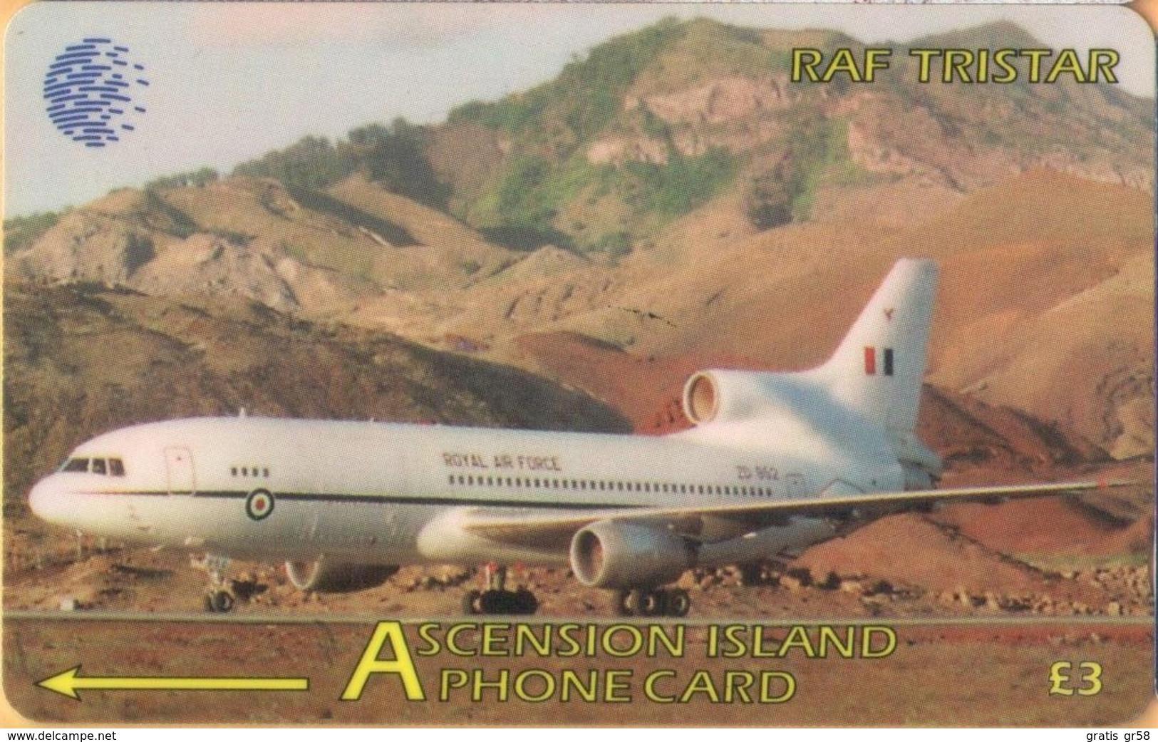 Ascension - 265CASA, GPT, RAF Lockheed Tristar, Air Forces, Aircraft, 2000ex, 1998, Used - Islas Ascensión