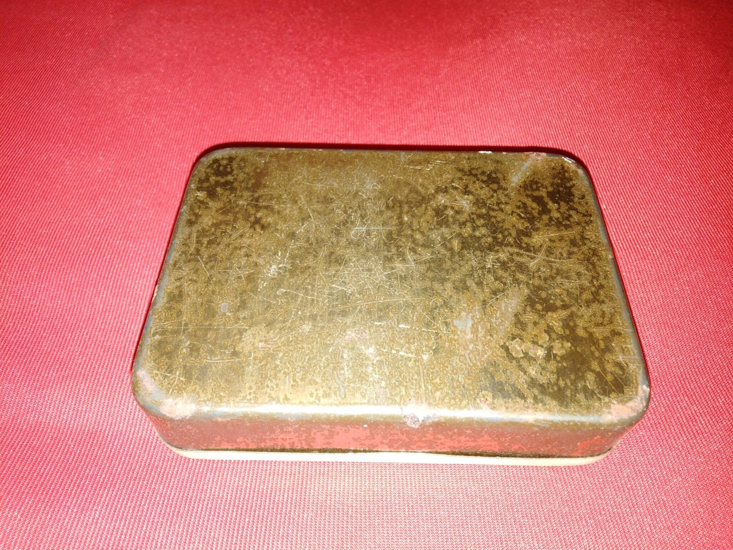 NEEHS SHAG TABAKFABRIK JOSEPH NEEHS HITDORF OLD TIN BOX TOBACCO - RARE - Tabaksdozen (leeg)