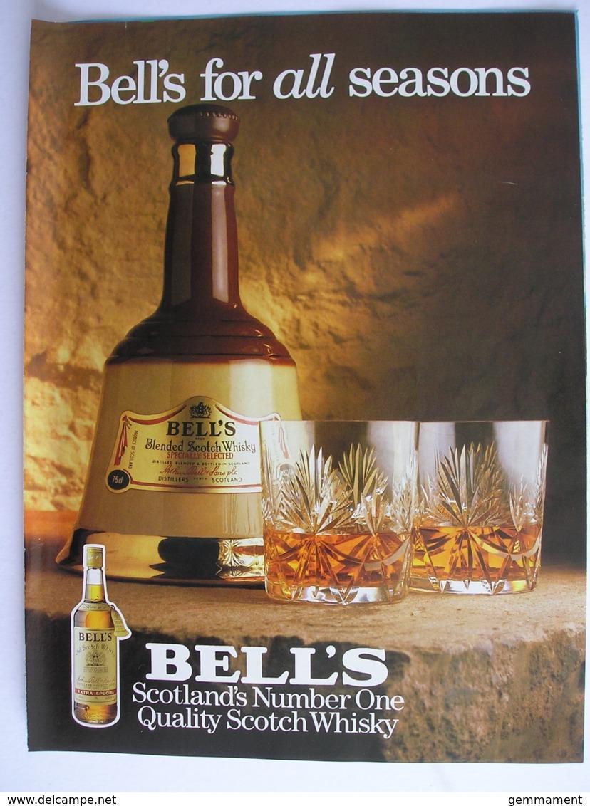 BELLS SCOTCH WHISKY. ORIGINAL 1986 MAGAZINE ADVERT - Other