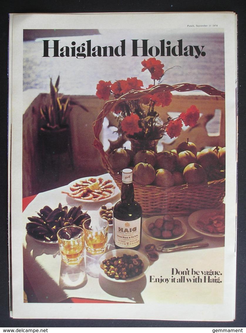 HAIG WHISKY.  ORIGINAL 1974 MAGAZINE ADVERT - Other