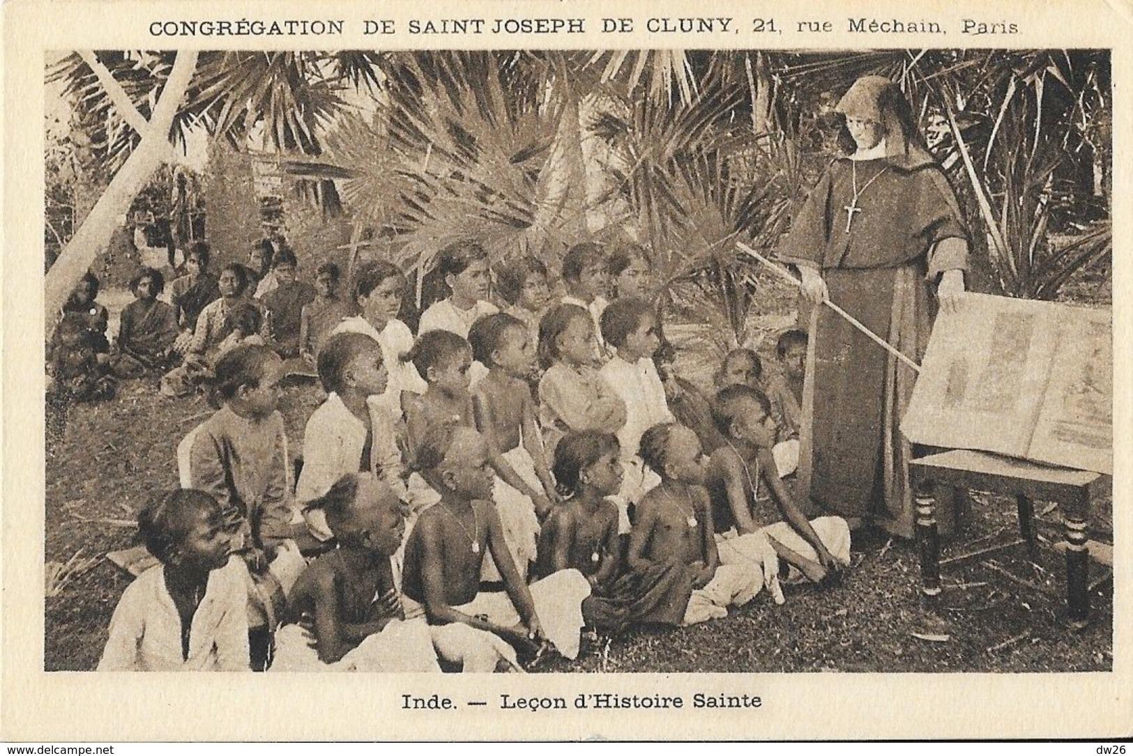 Missions, Congrégation De Saint-Joseph De Cluny - Inde: Leçon D'Histoire Sainte - Missions