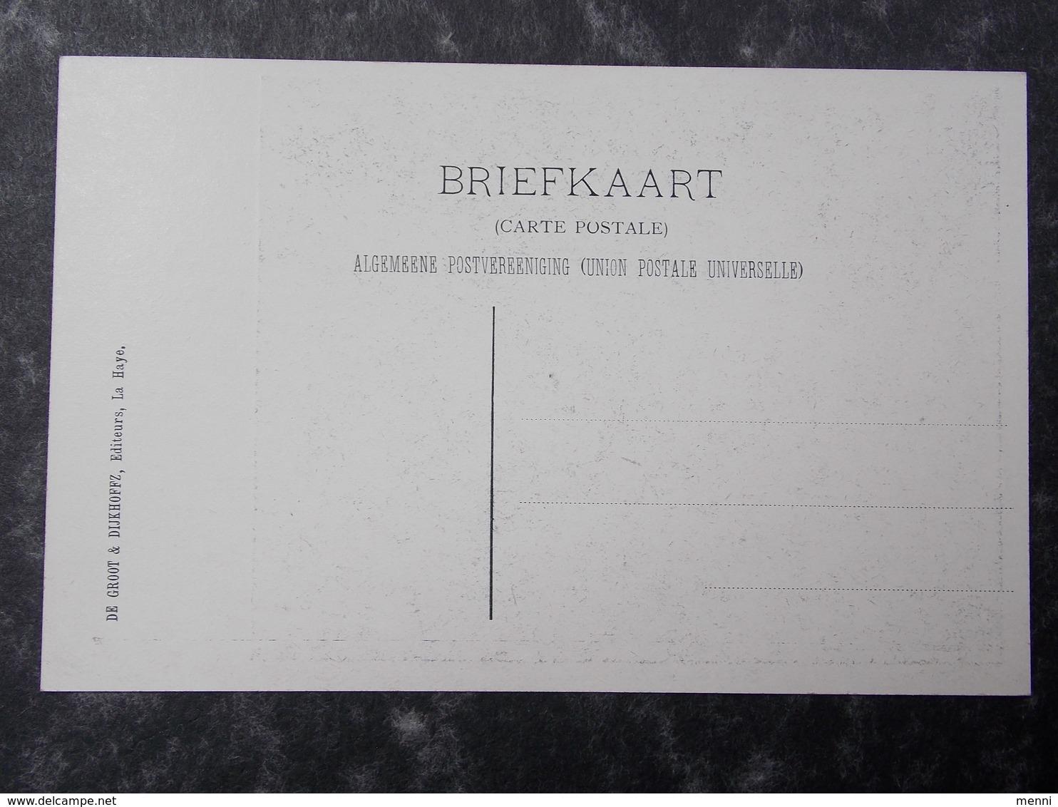 HOLLAND NEDERLAND NETHERLANDS - Den Haag - La Haye - 1907 PEACE CONFERENCE - Postcard #9/11 - Den Haag ('s-Gravenhage)