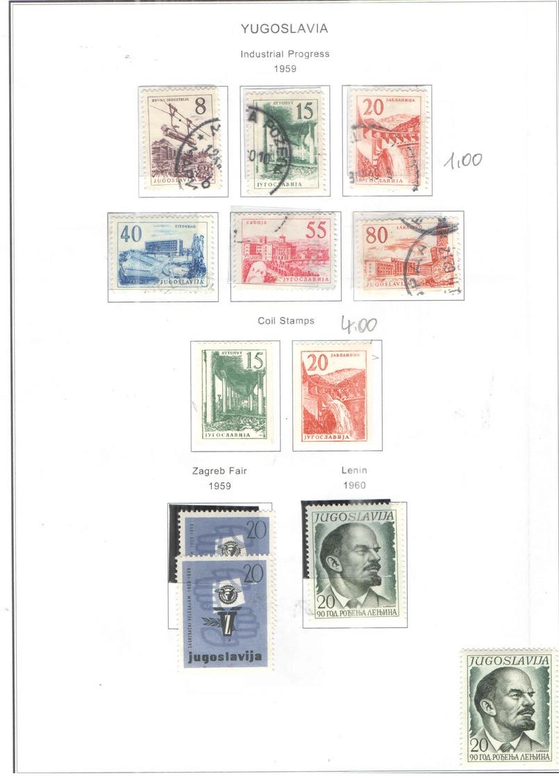 Jugoslavia PO 1959 Fiera Zagabria Scott.563+See Scan On Scott.Page; - Nuovi