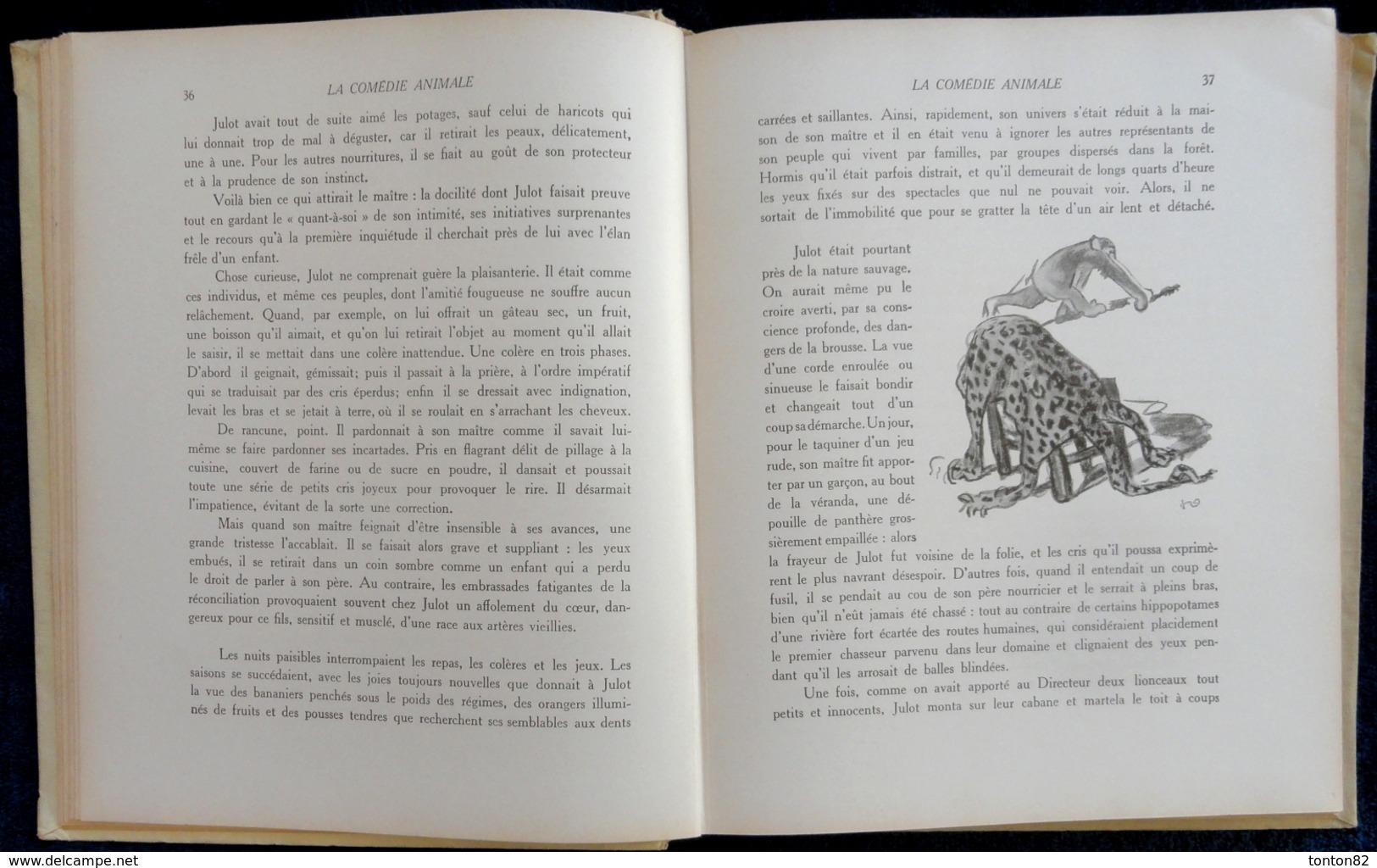 André Demaison - La Comédie Animale - Librairie Delagrave - ( 1951 ) . - Bücher, Zeitschriften, Comics
