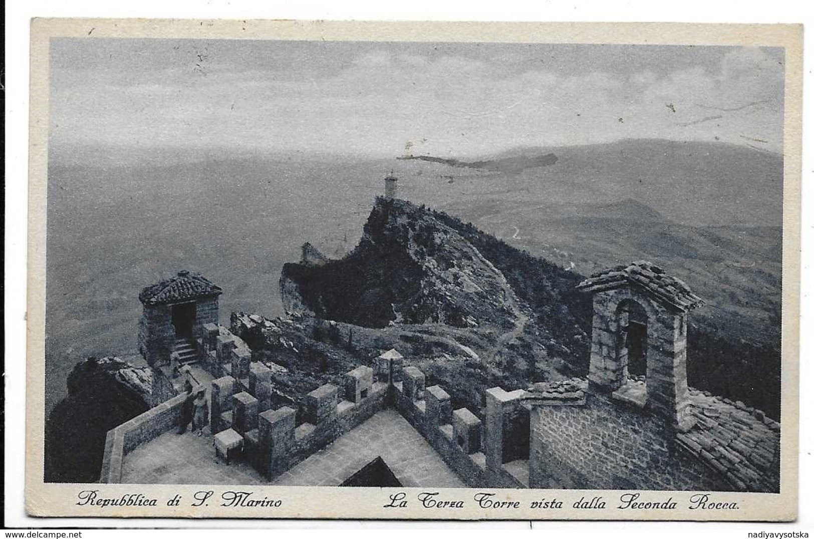 Repubblica Di San Marino. La Terza Torre Vista Dalla Seconda Rocca. - Saint-Marin