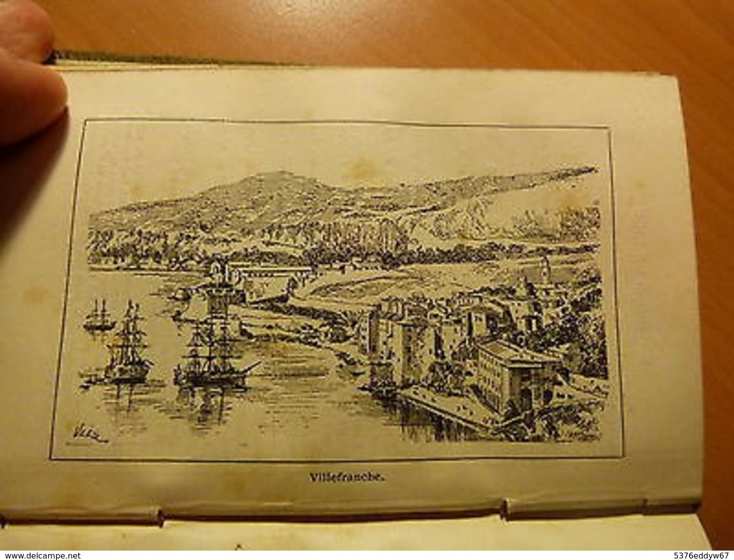 Guides Conty-Paris à Nice-Monaco-Menton-Toulon-Marseille-Cannes-Monaco-1886 - Livres, BD, Revues