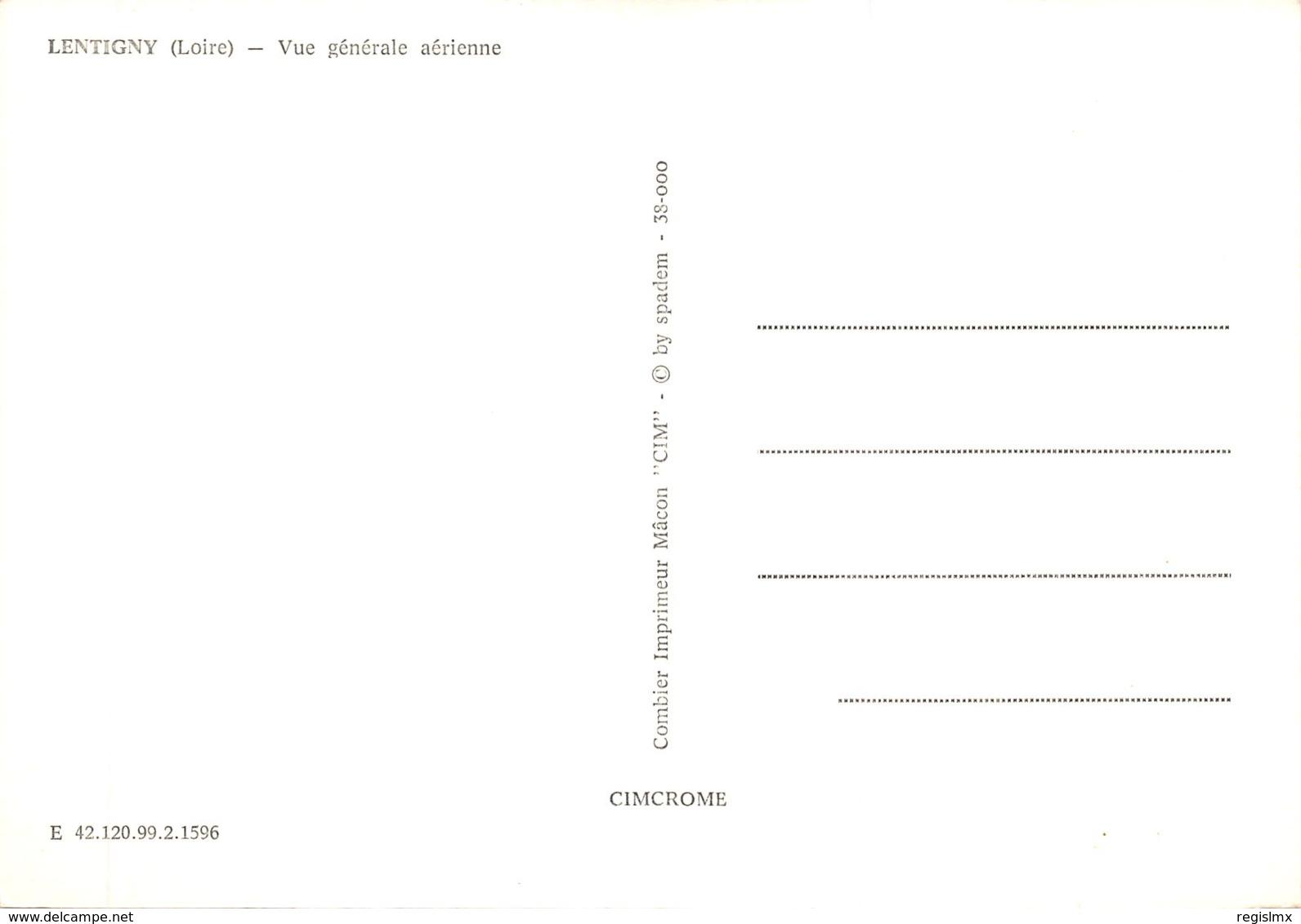 42-LENTIGNY-N°543-A/0381 - Autres Communes