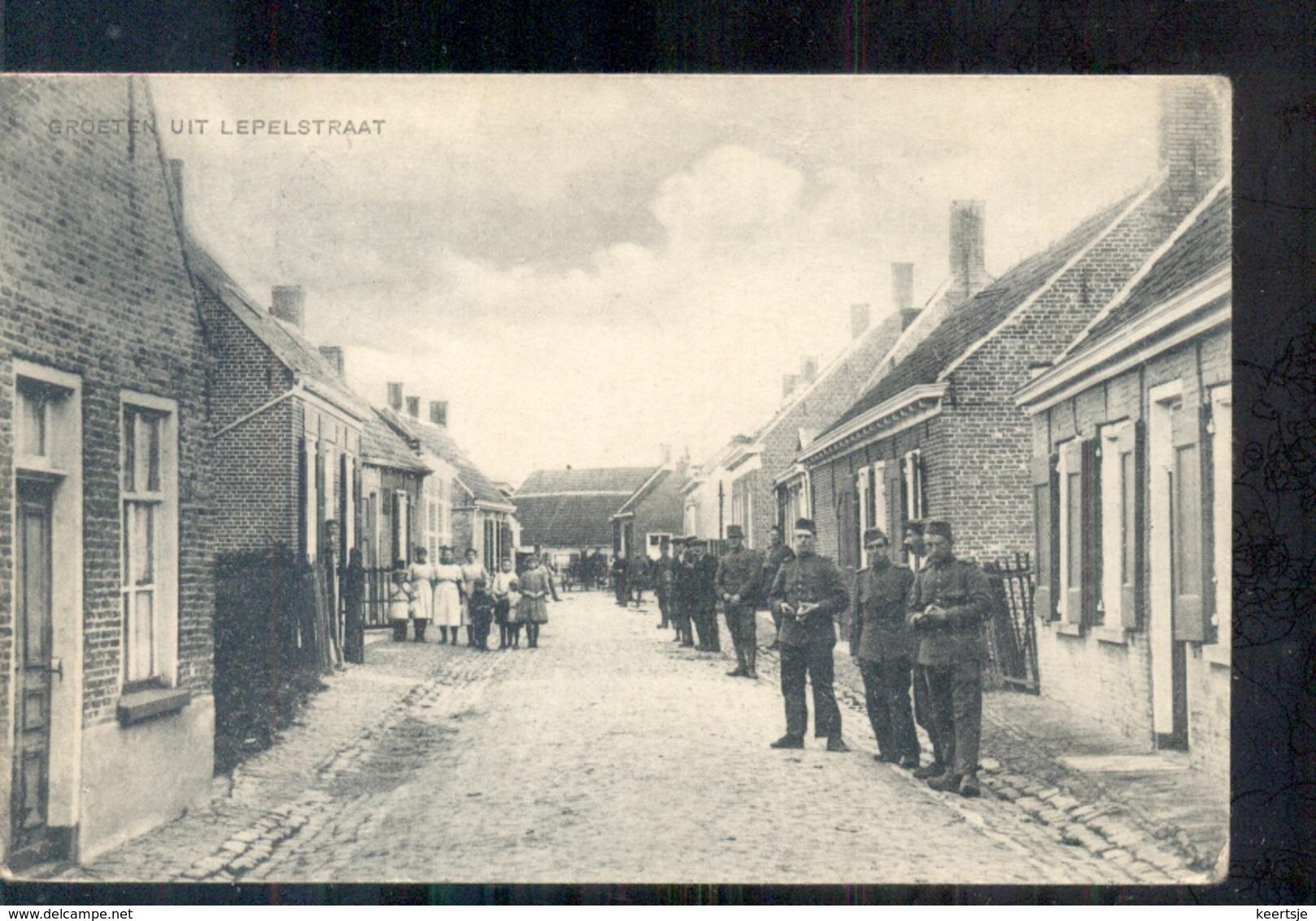 Lupelstraat - Groetn Uit - Soldaten - 1925 - Pays-Bas