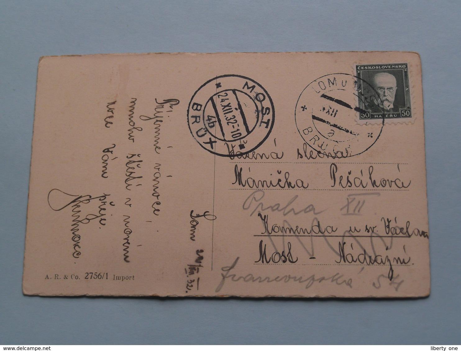 Veselé Vanoce ! > Identifikovat : Käthe Kruse ( Edit.: A.R. & C° 2756/1 ) 1932 ( See Photo For Detail ) ! - Repubblica Ceca