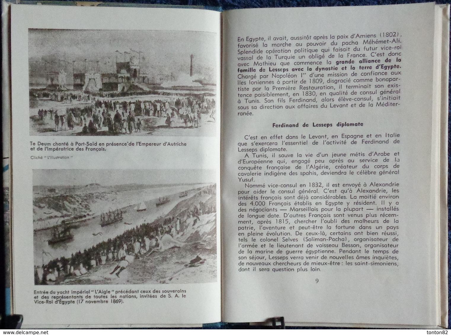 """J. Dautry - Le Percement De L'Isthme De Suez - """" La Joie De Connaître """" - Éditions Bourrelier - ( 1947 ) . - Wissenschaft"""