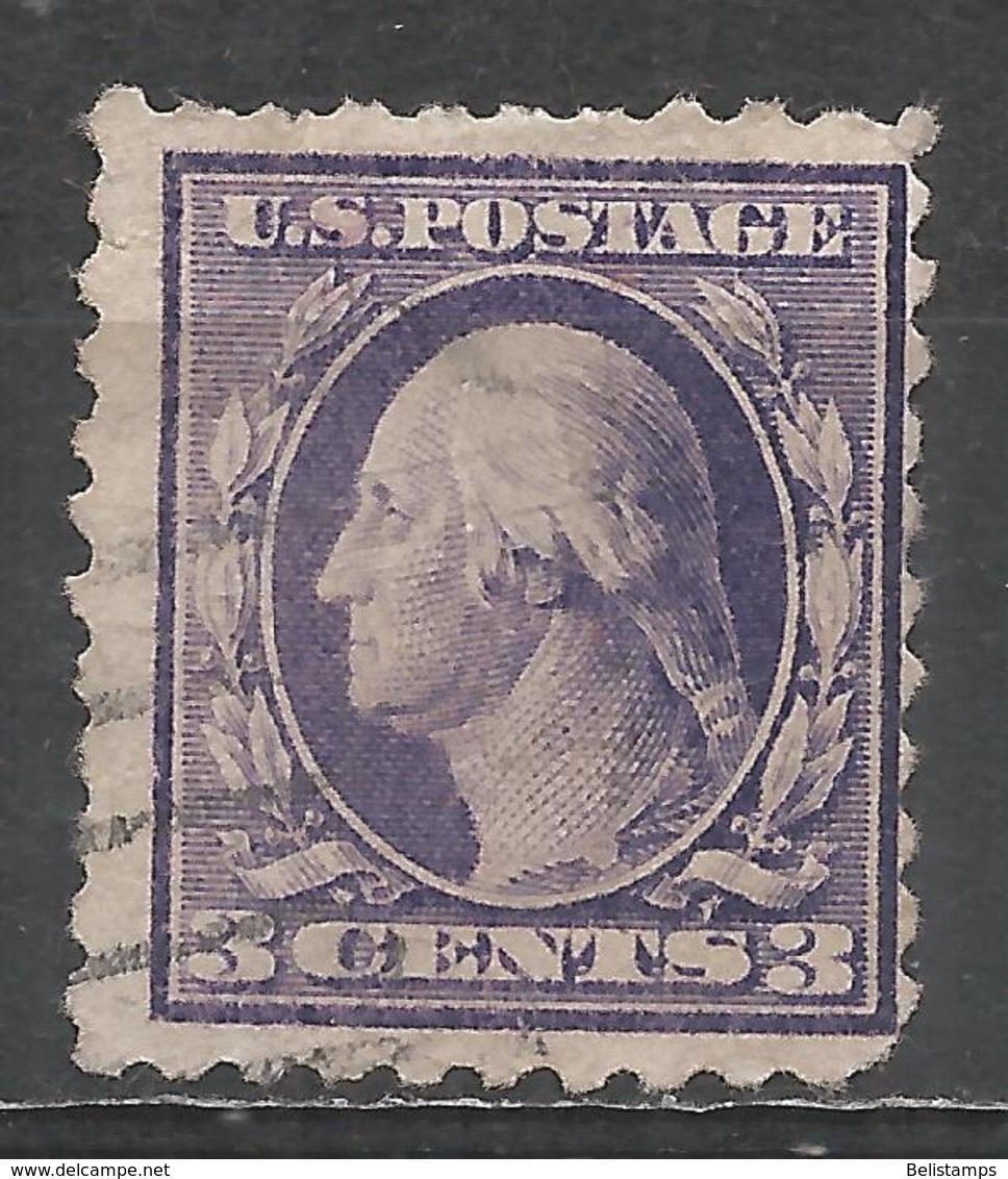 United States 1919. Scott #541 (U) George Washington (1732-99), President * - United States
