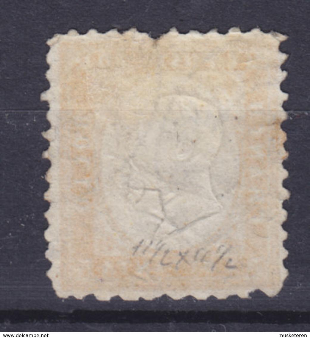 Italy 1862 Mi. 12     80c. König Viktor Emanuel II. Perf. 11½ X 12 (2 Scans) - Usati