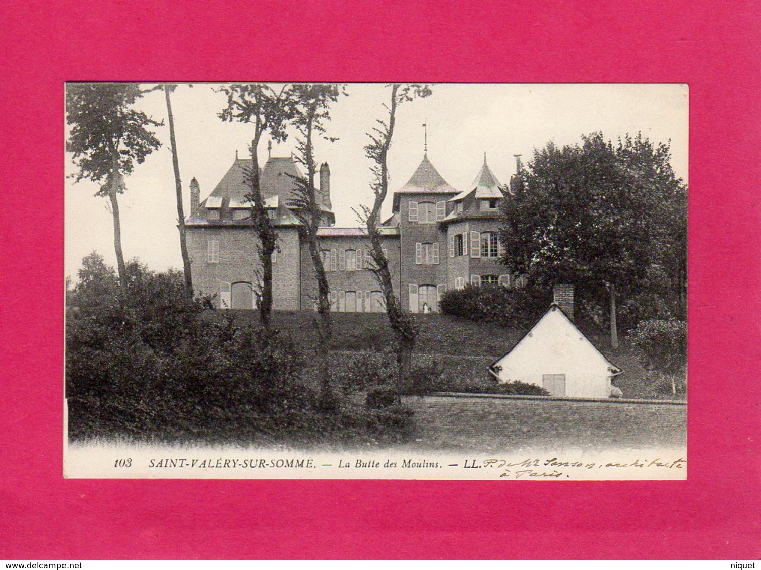 80 Somme, SAINT-VALERY-SUR-SOMME, LA BUTTE DES MOULINS, (L. L.) - Saint Valery Sur Somme