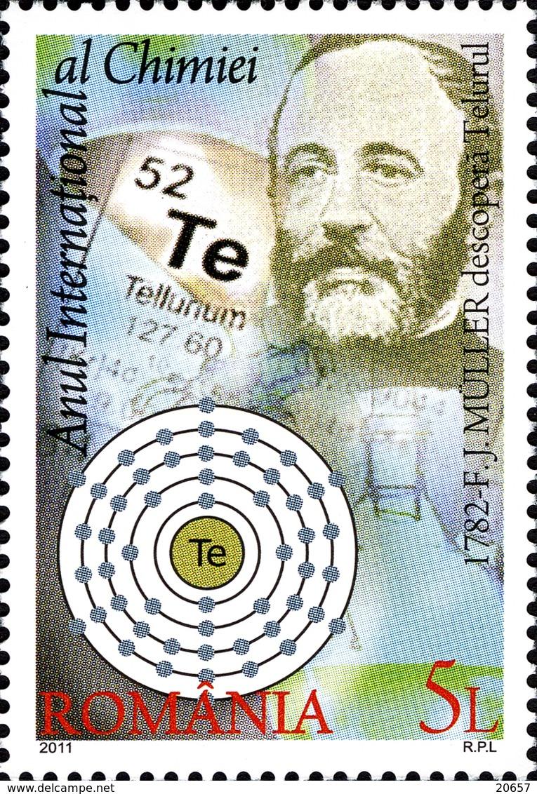 Roumanie Romania 5543 Chimie - Química