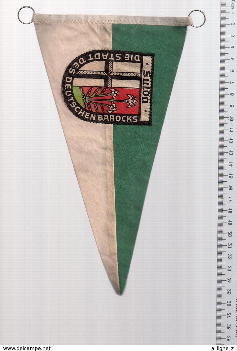 REF ENV : Fanion Flag Pennant Stendardo Touristique Ancien : SULOA Allemagne Germany - Obj. 'Souvenir De'