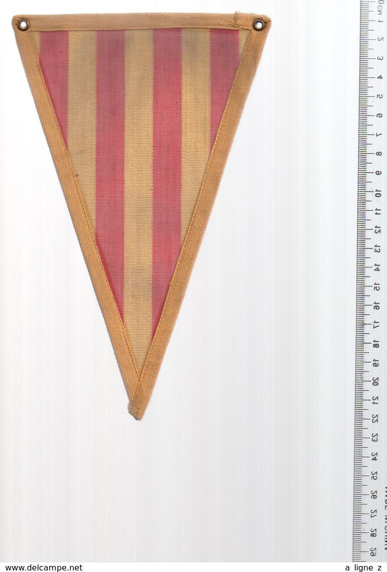 REF ENV : Fanion Flag Pennant Stendardo Touristique Ancien : Roussillon Perpignan Catalan - Obj. 'Souvenir De'