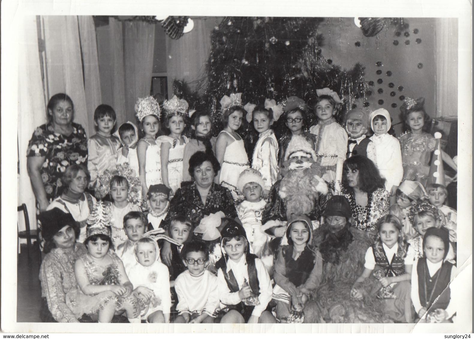 "UKRAINE. #1604 A PHOTO. ""CHILDREN. NEW YEAR. CARNIVAL COSTUME. GRADUE FROST.  *** - Proyectores De Cine"