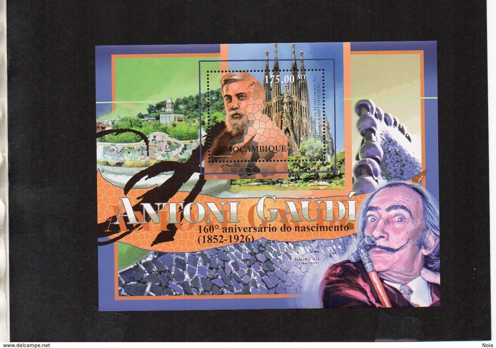 MOZAMBIQUE. ARCHITECTURE. ANTONI GAUDÍ. MNH (4R2708) - Architecture