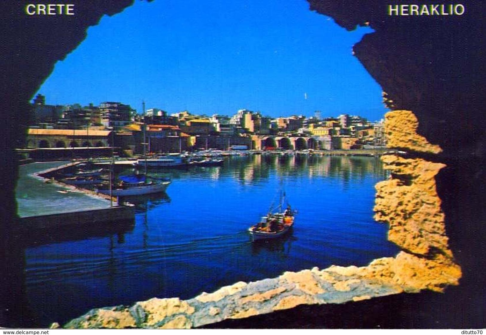 Crete Heraklio - Formato Grande Viaggiata – E 9 - Grecia