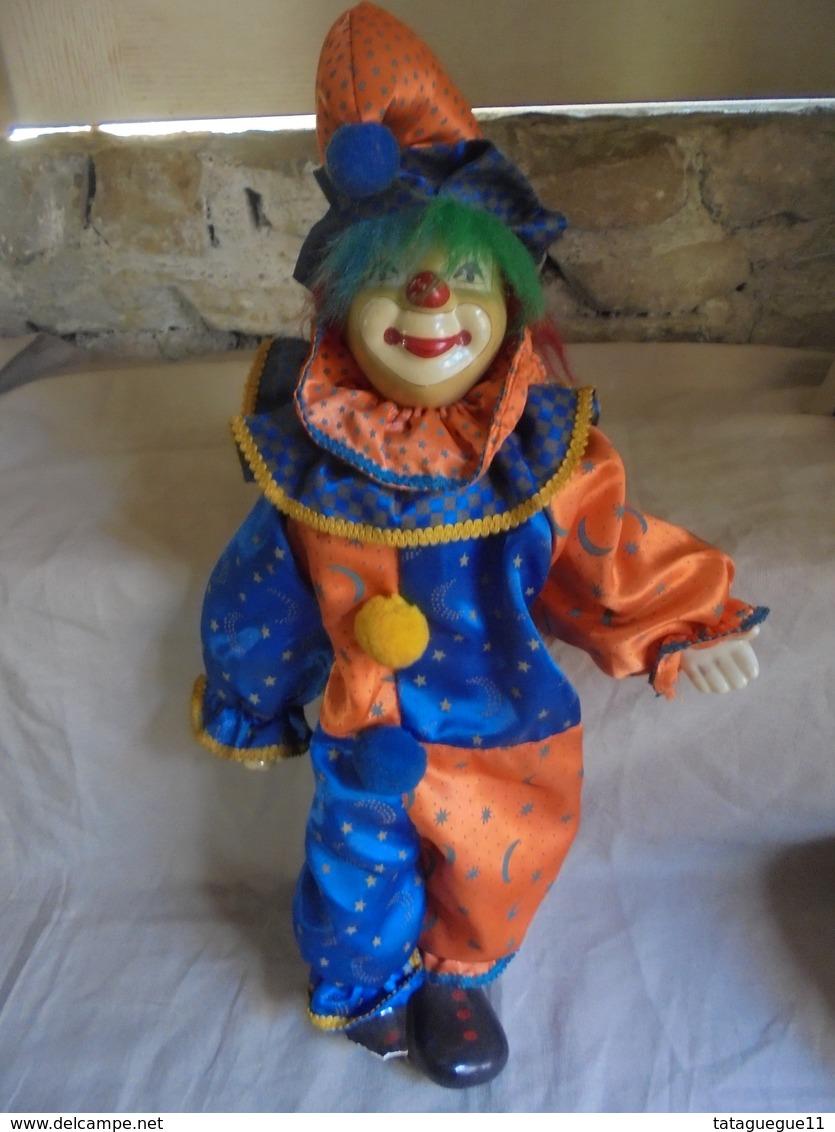 Ancien Clown En Céramique (A Restaurer) - Autres Collections