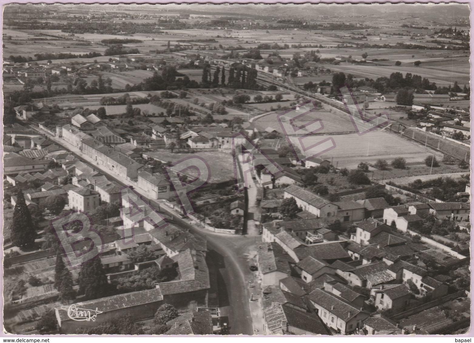 Romanèche-Thorins (71) - Vue Aérienne (Cliché Rancurel) - Other Municipalities