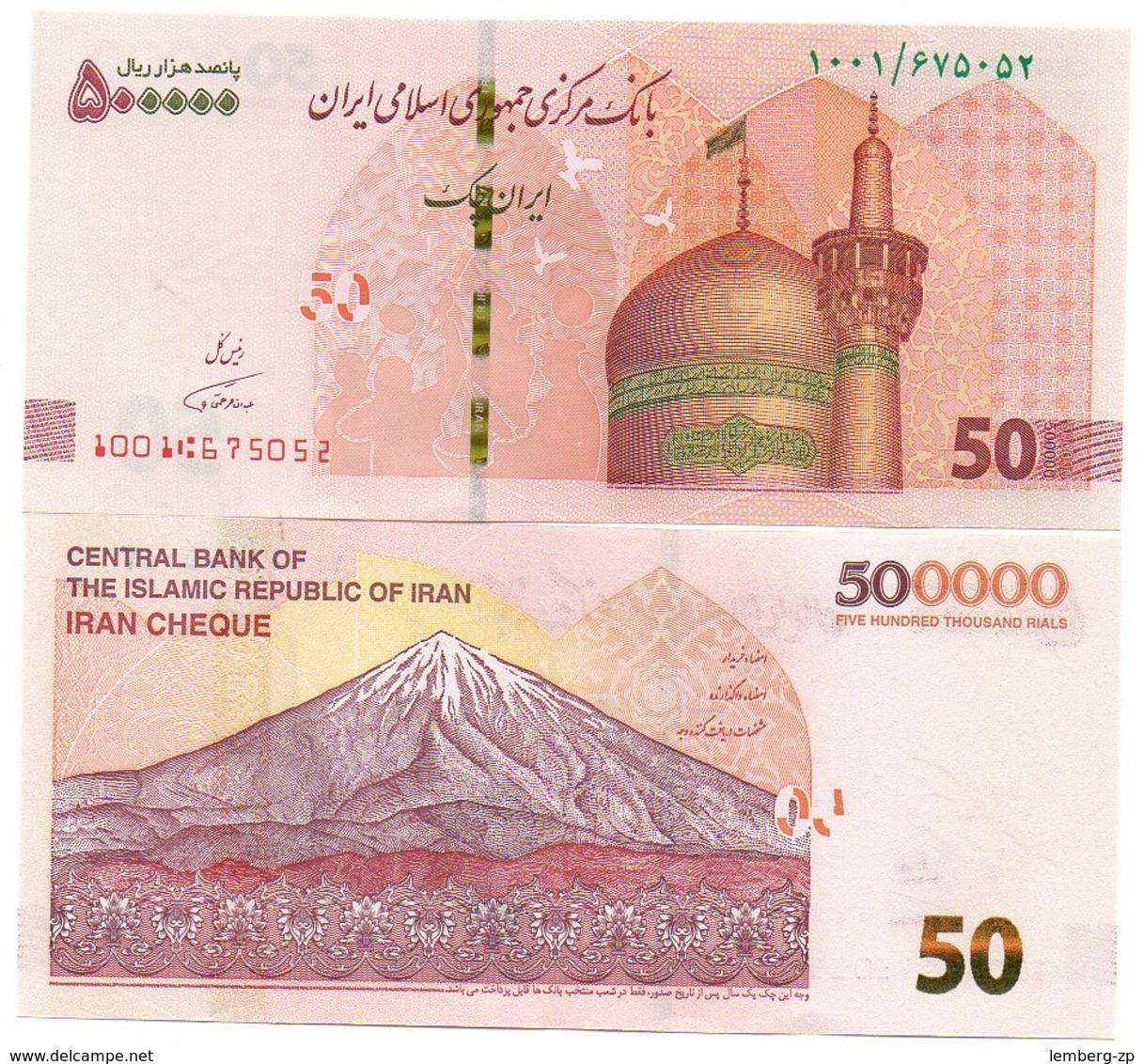 Iran - 500000 Rials 2018 UNC Lemberg-Zp - Iran