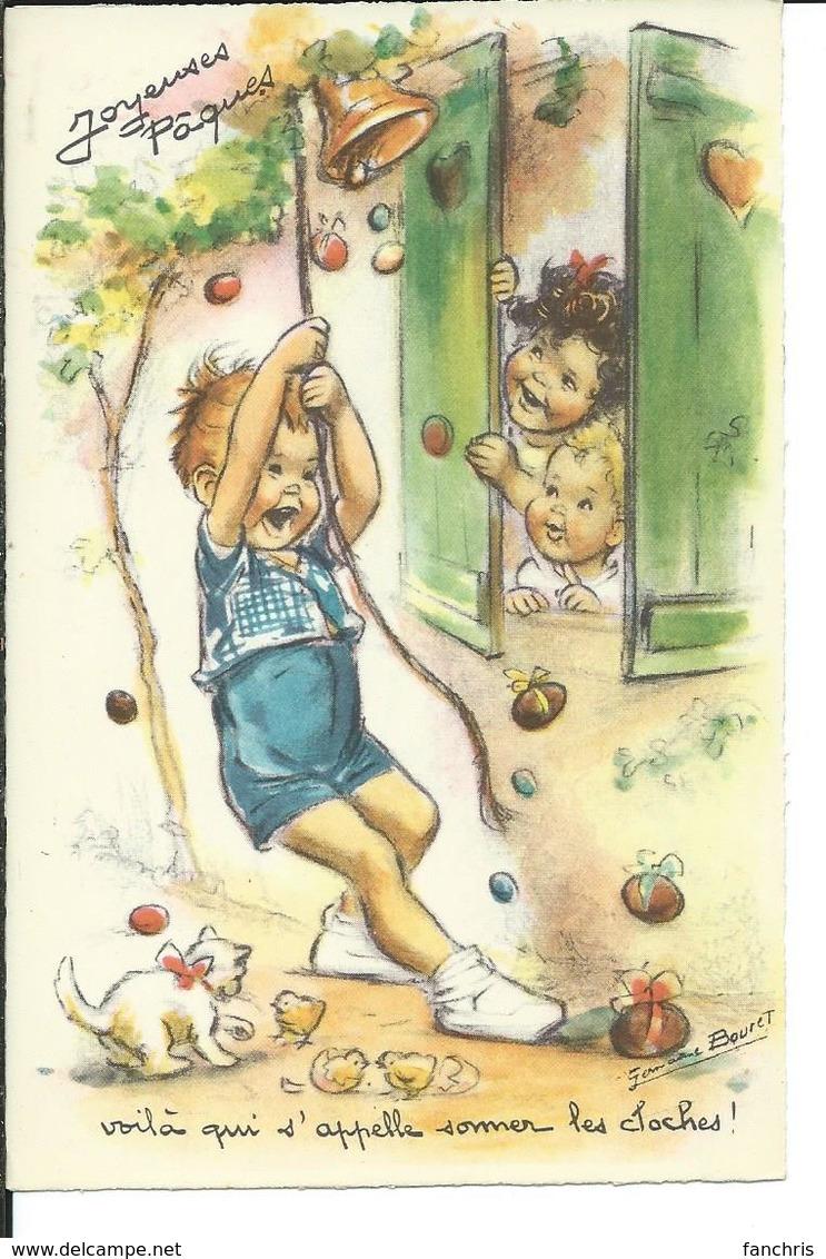 """Germaine Bouret- Joyeuses Pâques-""""voila Ce Qui S""""appelle Sonner Les Cloches!"""" - Bouret, Germaine"""