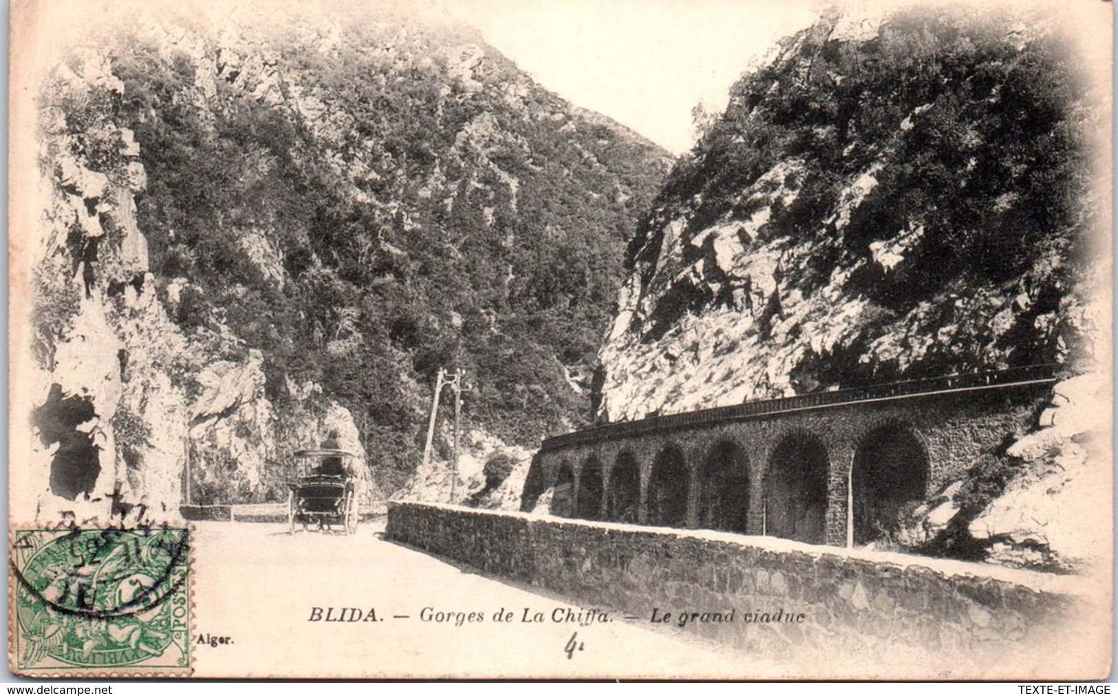 ALGERIE - BLIDA - Gorges De La Chiffa - Le Grand Viaduc - - Blida