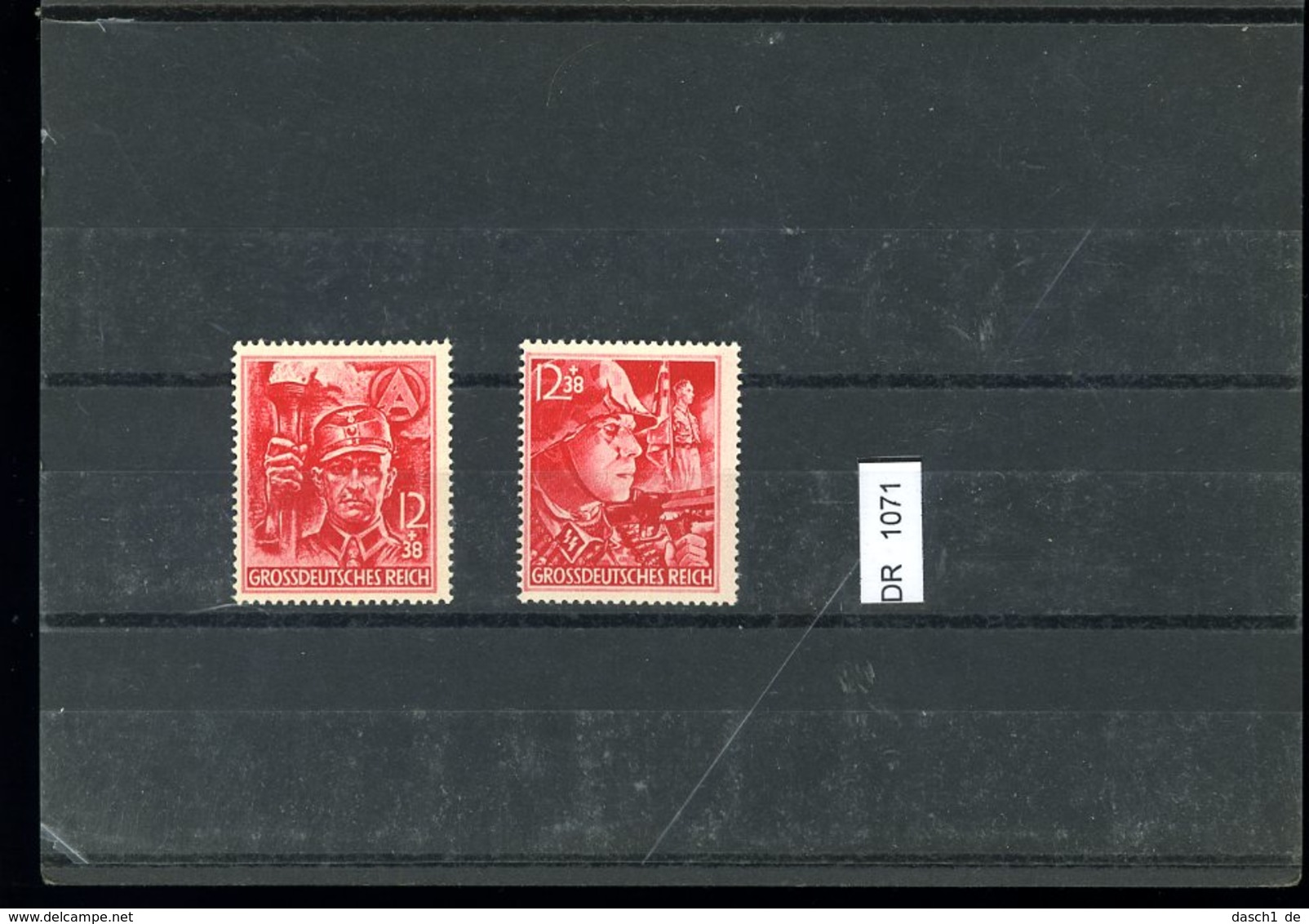 Deutsches Reich, Xx, 909-910 - Ungebraucht