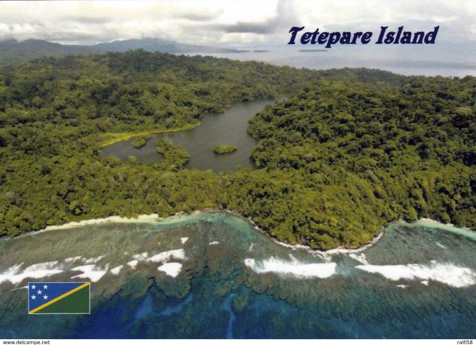 1 AK Solomon Islands * Tetepare - Unbewohnte Insel In Der Western-Provinz - Größte Unbewohnte Tropische Insel Im Pazifik - Salomon