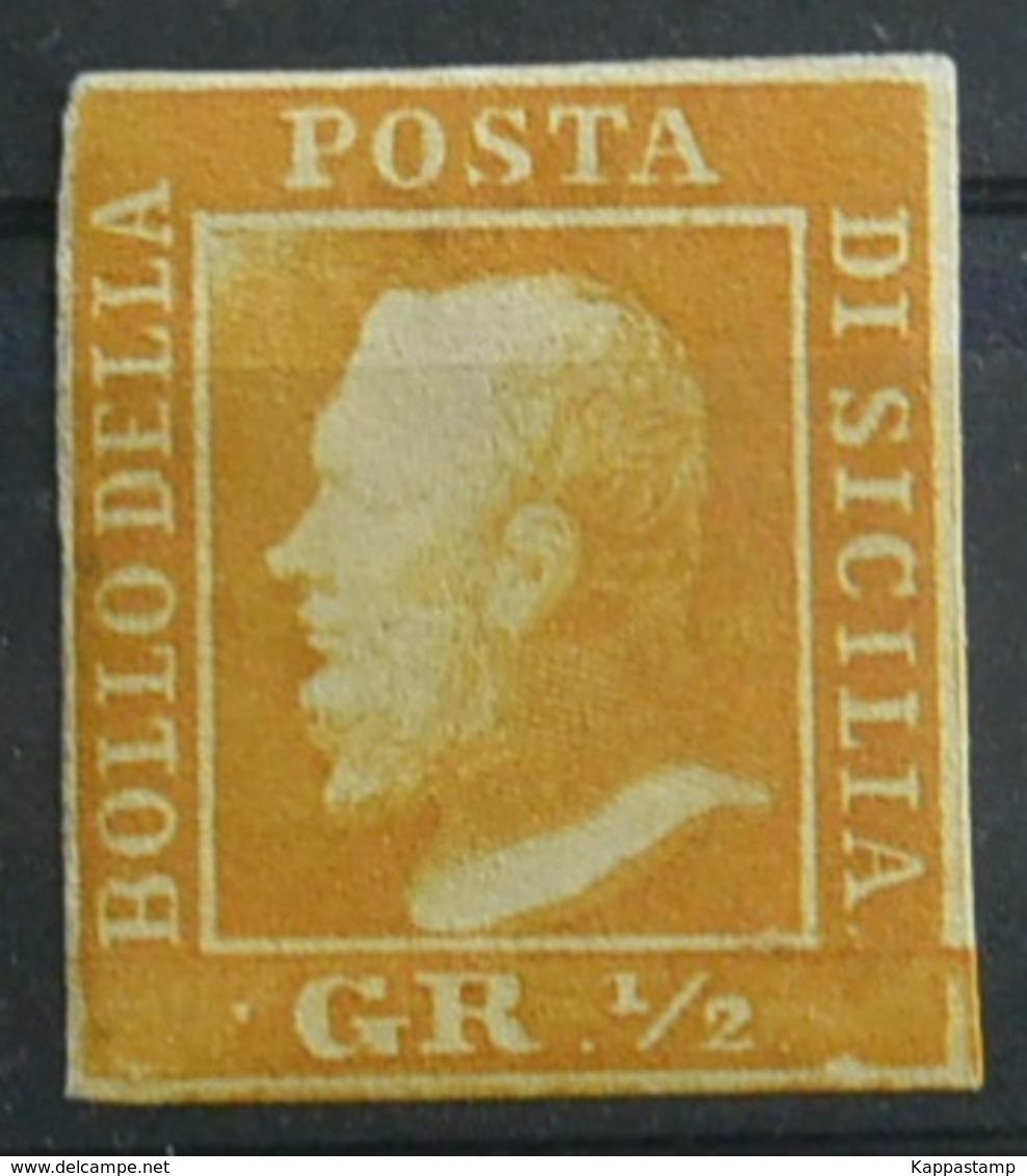 A.S.Sicilia Mezzo Grana FIRMATO *  (Awei-96 - Sicilia