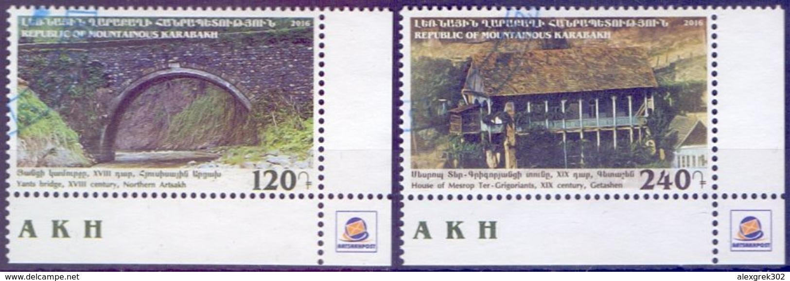 Used Armenia - Nagorno Karabakh Artsakh 2016, Sights Of Artsakh 2V. - Armenië