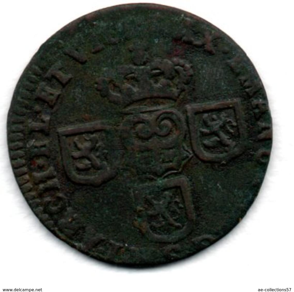 Pays Bas Espagnol  - Liard De 1712  -  état  TB+ - [ 1] …-1795 : Periodo Antico