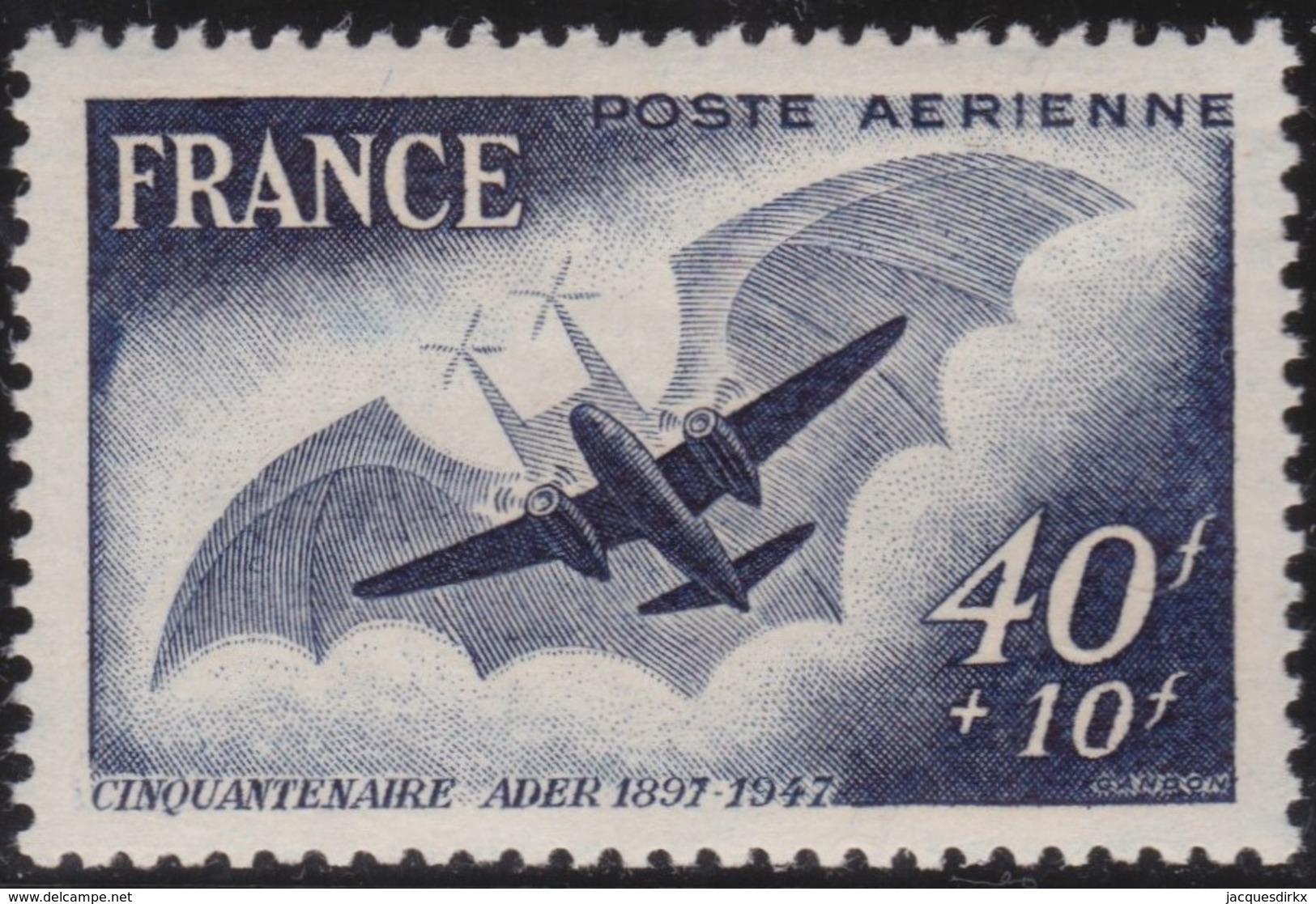 France   .    Yvert  .  PA  23      .  **   .     Neuf SANS Charniere  .   /   .   MNH - Poste Aérienne