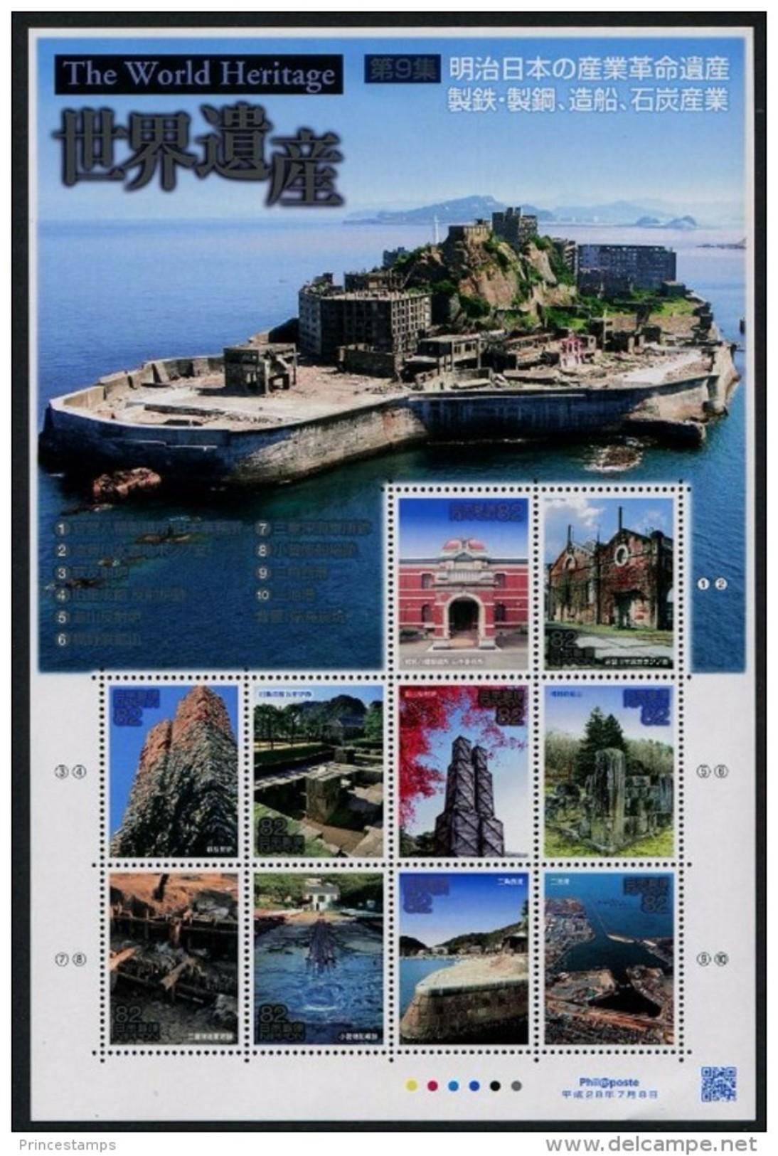 Japan (2016) - MS -  /  UNESCO World Heritage #9 - Architecture - Kastelen